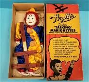 NOS Hazelle's De Luxe Talking Marionettes 401 Peppy