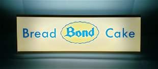 Bond Bread Light Up Sign