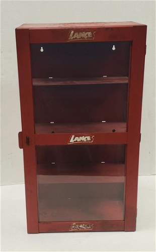 Lance Counter Display Cabinet
