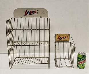2 Lance Counter Store Display Racks