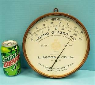 Kosmo Glazed Kid Round Thermometer