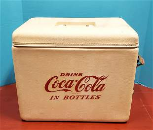 Coca Cola Royal Mieco Cooler with tray & Opener