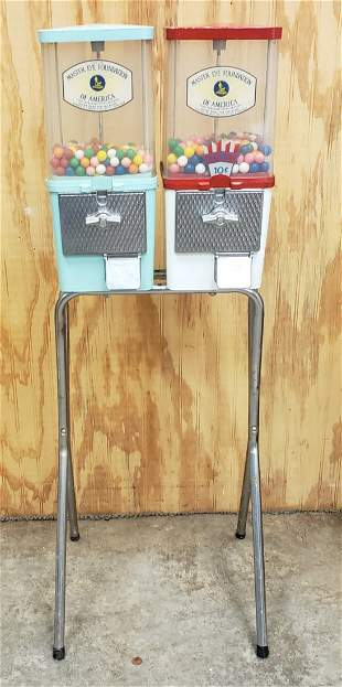 Double Gumball Vending Machine