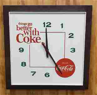 Things go better with Coke Clock