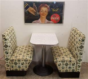 Two Seater Diner Booth