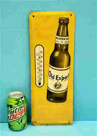 Old Export Thermometer A Swell Beer