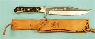 Original Puma Bowie Knife 6396 w Sheath
