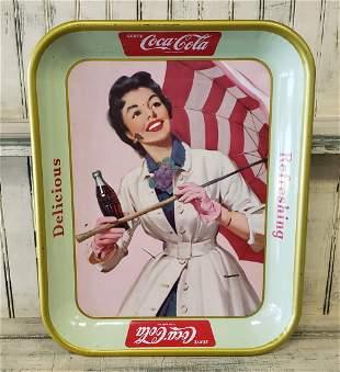 1950's Coca Cola Canada Tray