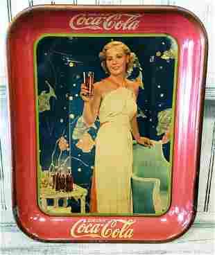 1935 Coca Cola tray