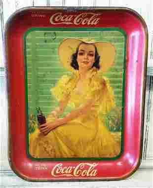 1938 Coca Cola tray