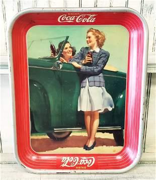 1942 Coca Cola Tray