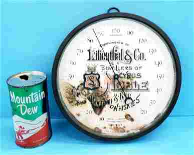 1885 Lilienthal & Co. thermometer