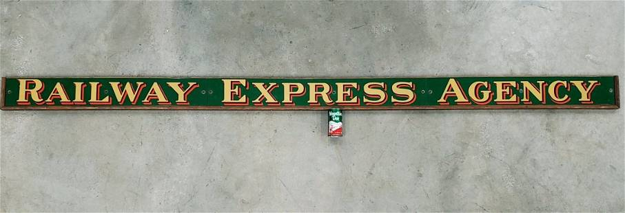 Railway Express Agency Porcelain sign