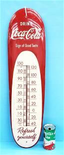 Drink Coca Cola Cigar Thermometer