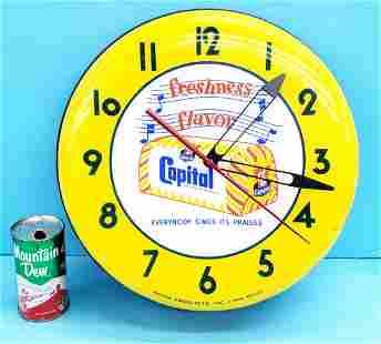 Capital Bread light up clock