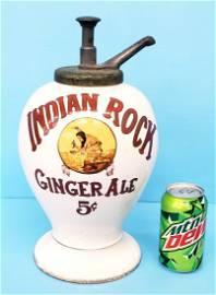 Indian Rock Ginger Ale syrup dispenser