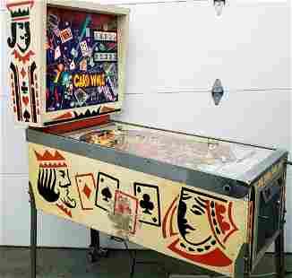 Gottlieb's Card Whiz Pinball Machine