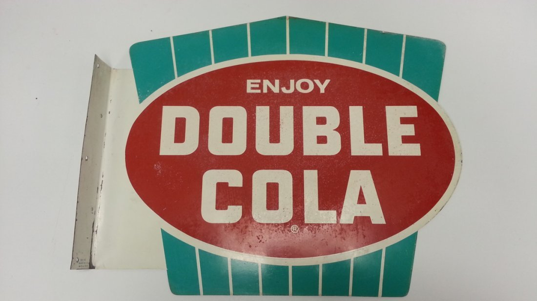 2 sided Double Cola Flange Sign
