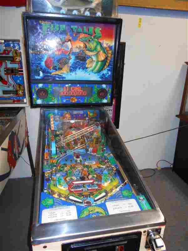 Fish Tales Pinball Machine Williams 1992