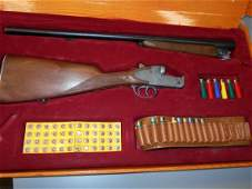 Edison Montecarlo Cal .12 Toy Shotgun Capgun