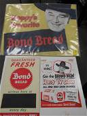 3 piece Bond Bread lot