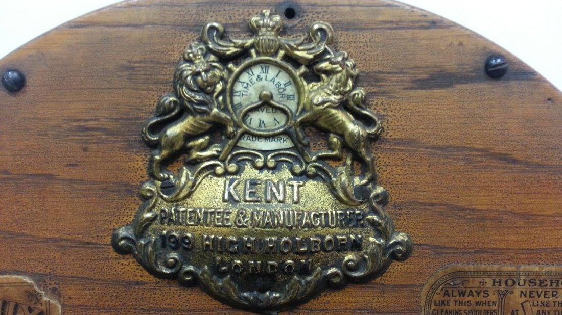1800's Kent rotary knife cleaner / sharpener - 3
