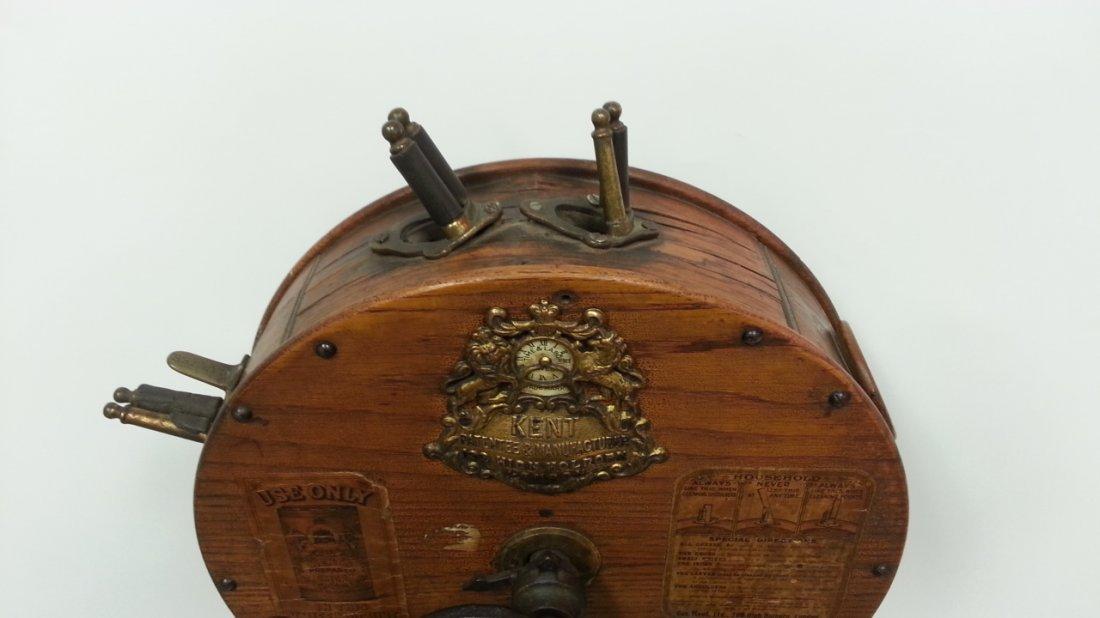 1800's Kent rotary knife cleaner / sharpener - 4