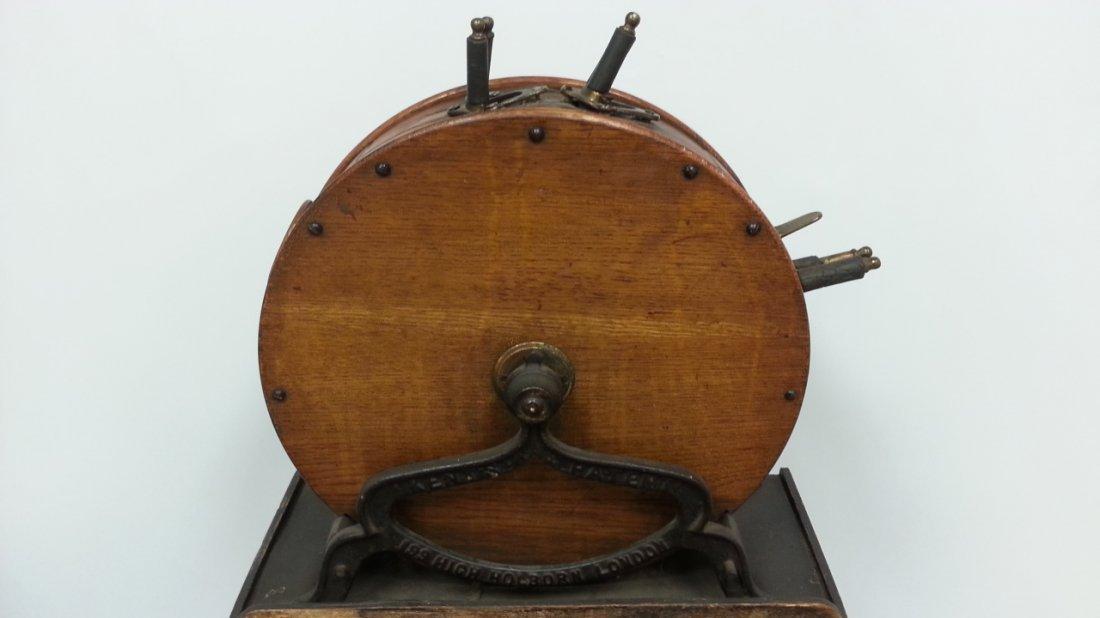 1800's Kent rotary knife cleaner / sharpener - 8