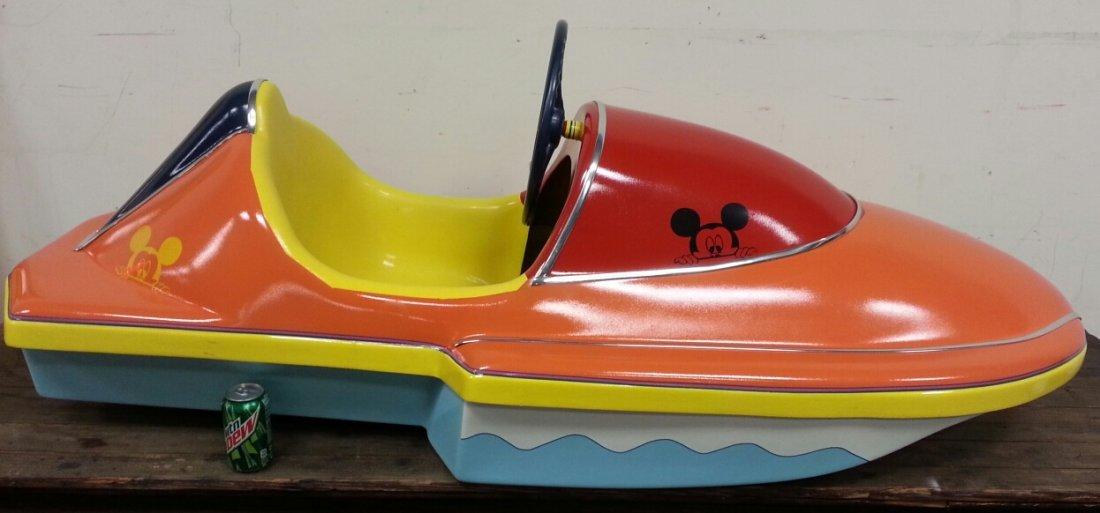 Restored Kiddie Ride Amusement Park boat