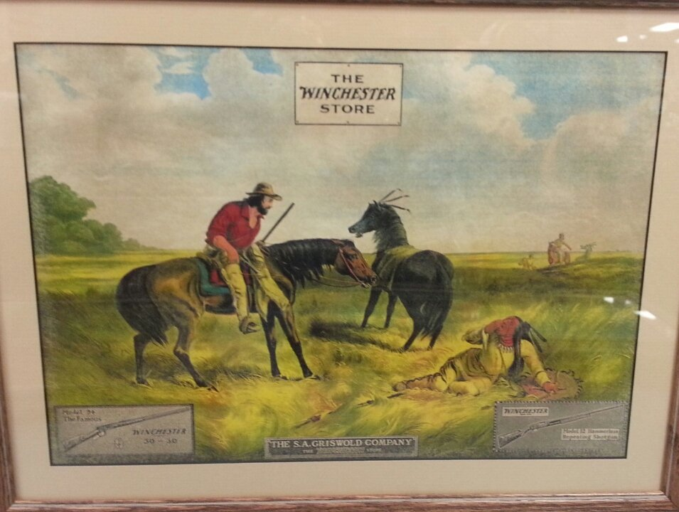 "7 RARE 1920's ""The Winchester Store"" advertising signs - 4"