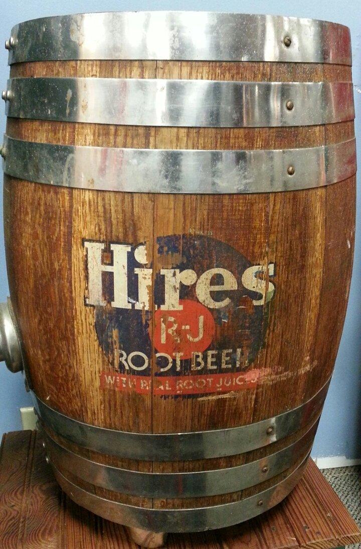 Hires Root Beer Advertising Barrel