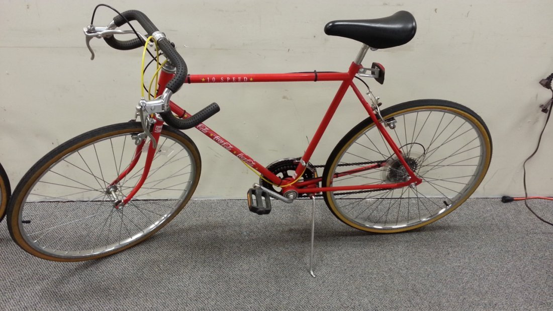 10 Speed Bmx : Coca cola huffy speed bicycle