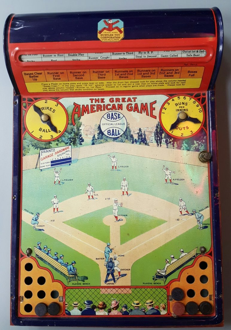 The Great American Baseball Game