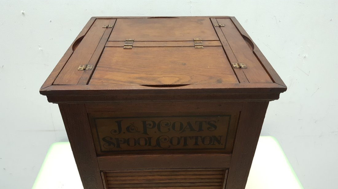 J&P Coats Spool Cabinet - 5