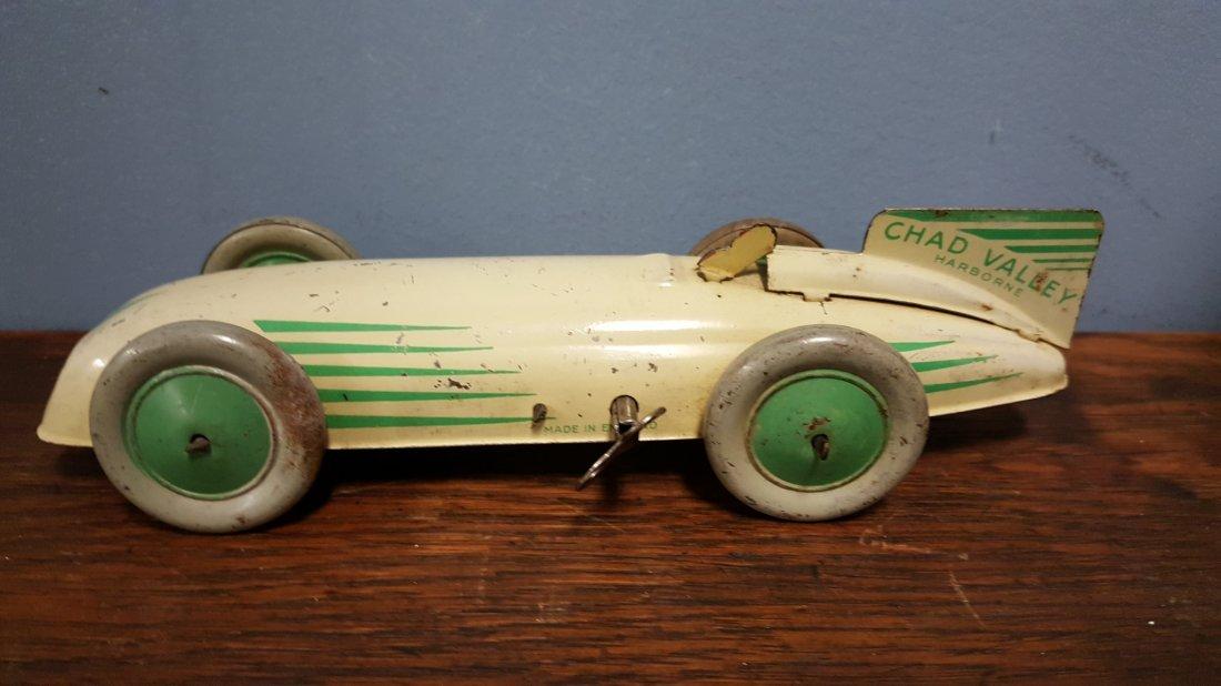 Rare 1930's Chad Valley Harborne tin windup car