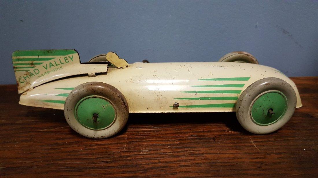 Rare 1930's Chad Valley Harborne tin windup car - 2