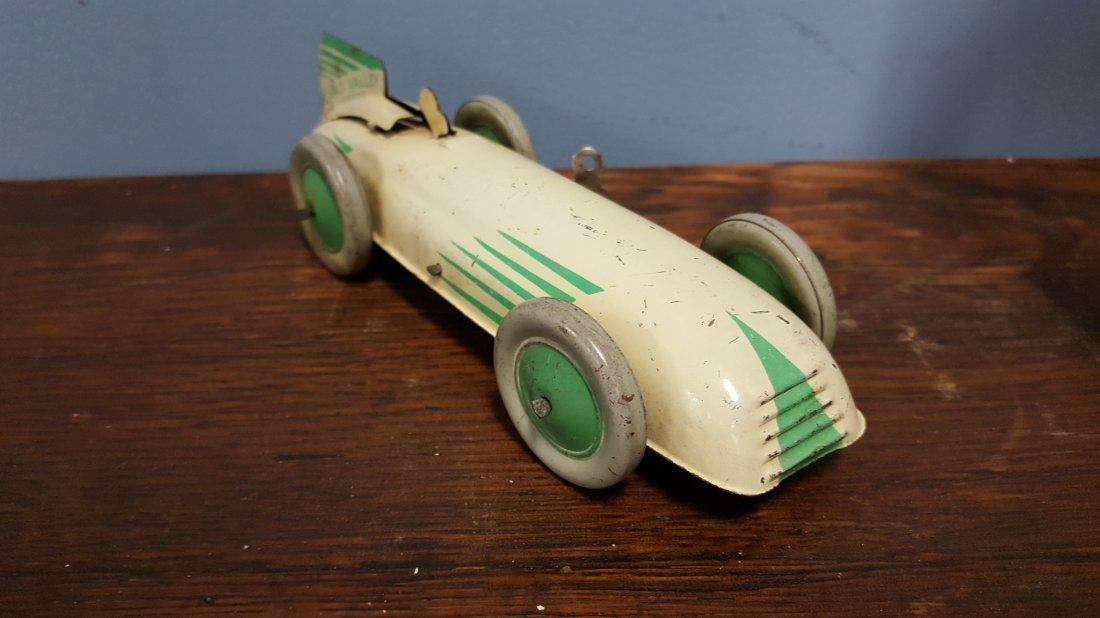 Rare 1930's Chad Valley Harborne tin windup car - 3