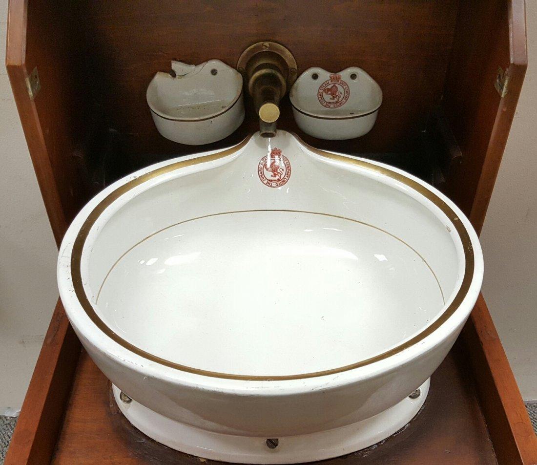 Cunard Ship's Cabin Sink - 4