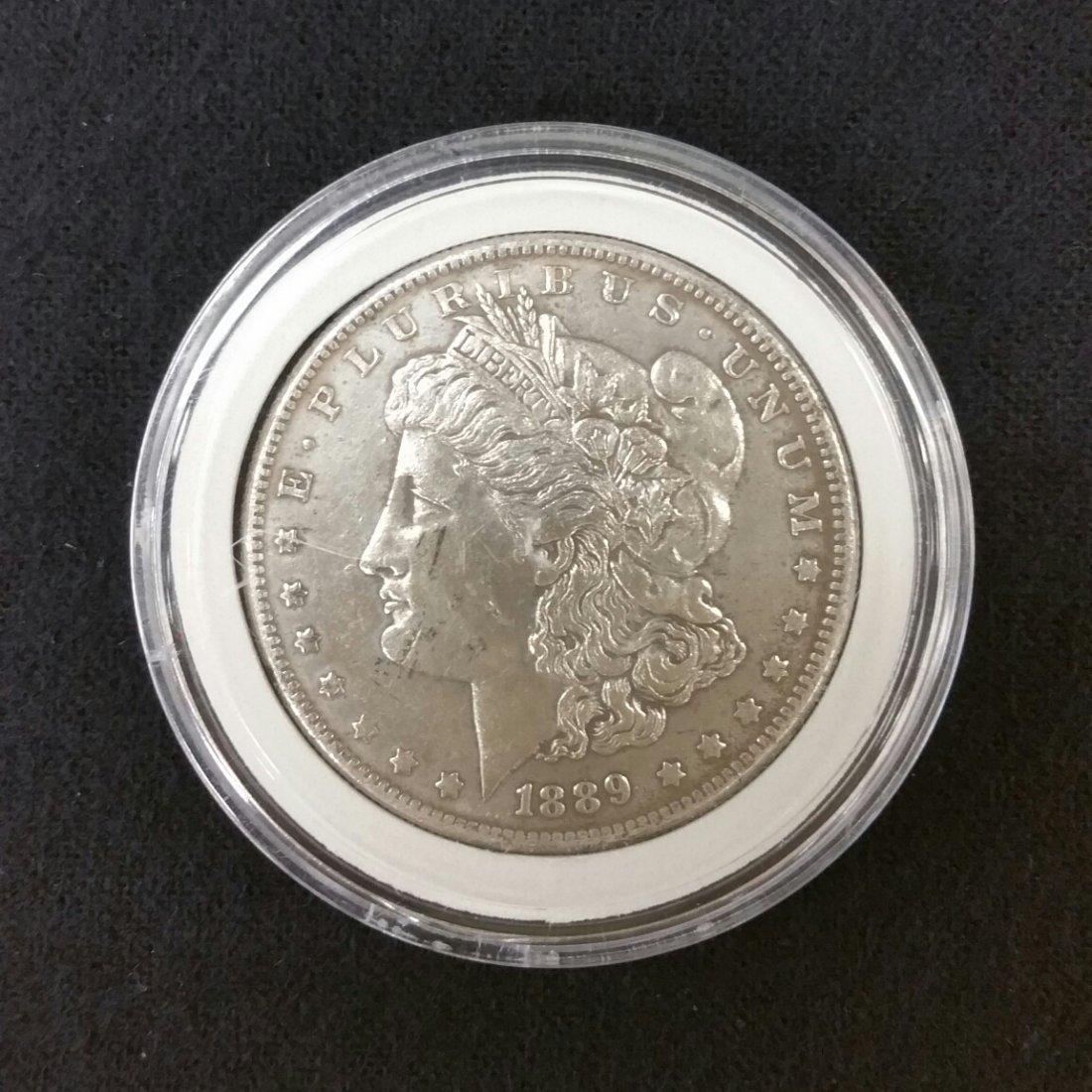 1889 Carson City Silver Dollar