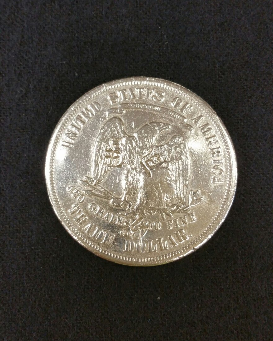 1876 Carson City Trade Dollar - 2