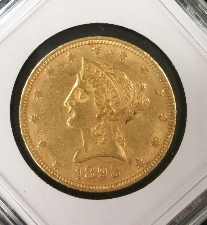 1893 $10 Gold