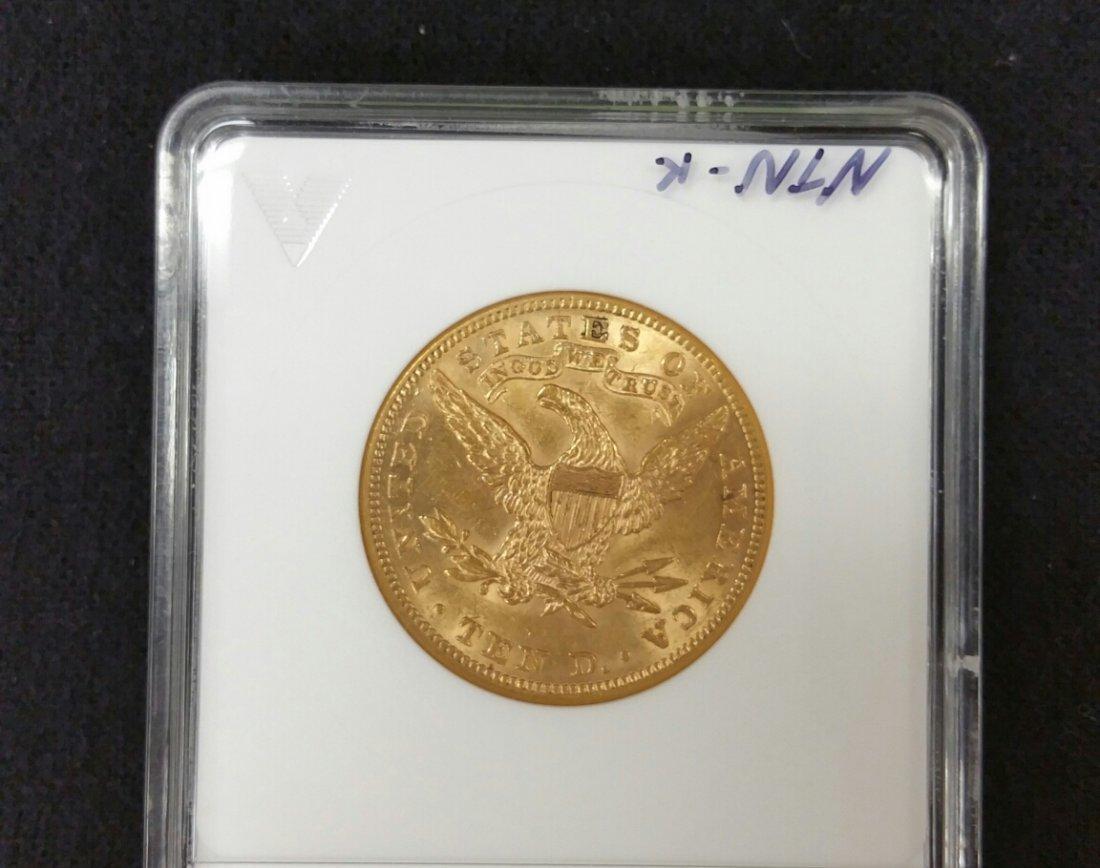 1901 $10 Gold Coin AU58 - 2