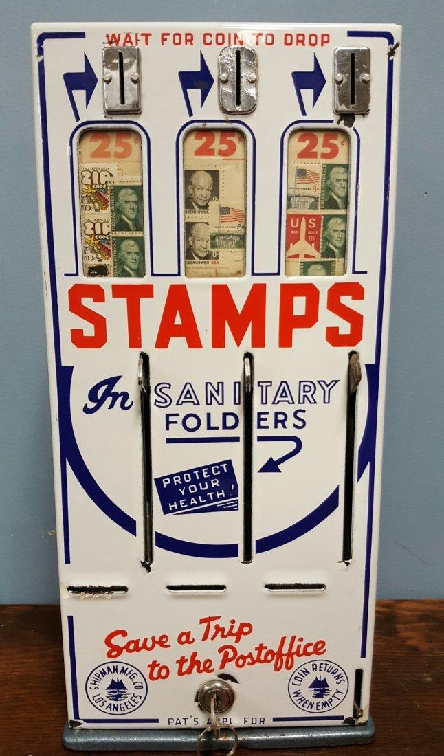Porcelain front Stamp Machine