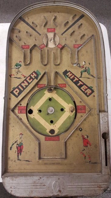Original Early Pinch Hitter Table Top Baseball Game