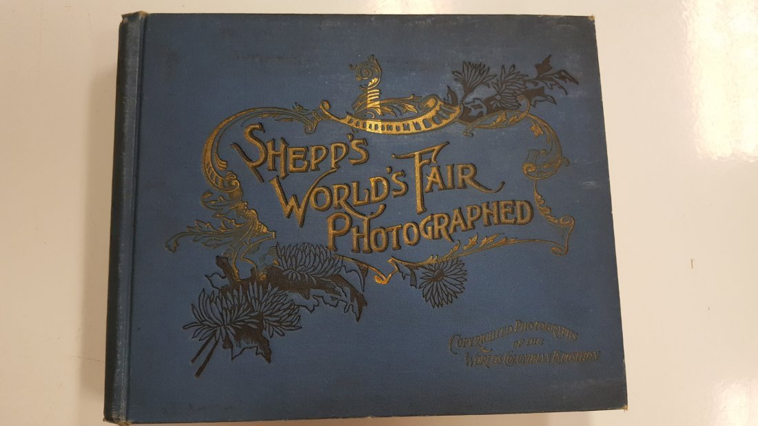 1893 Shepp's World's Fair Photographed Book