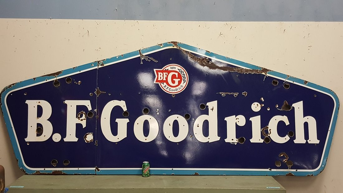 BF Goodrich Porcelain Neon Sign