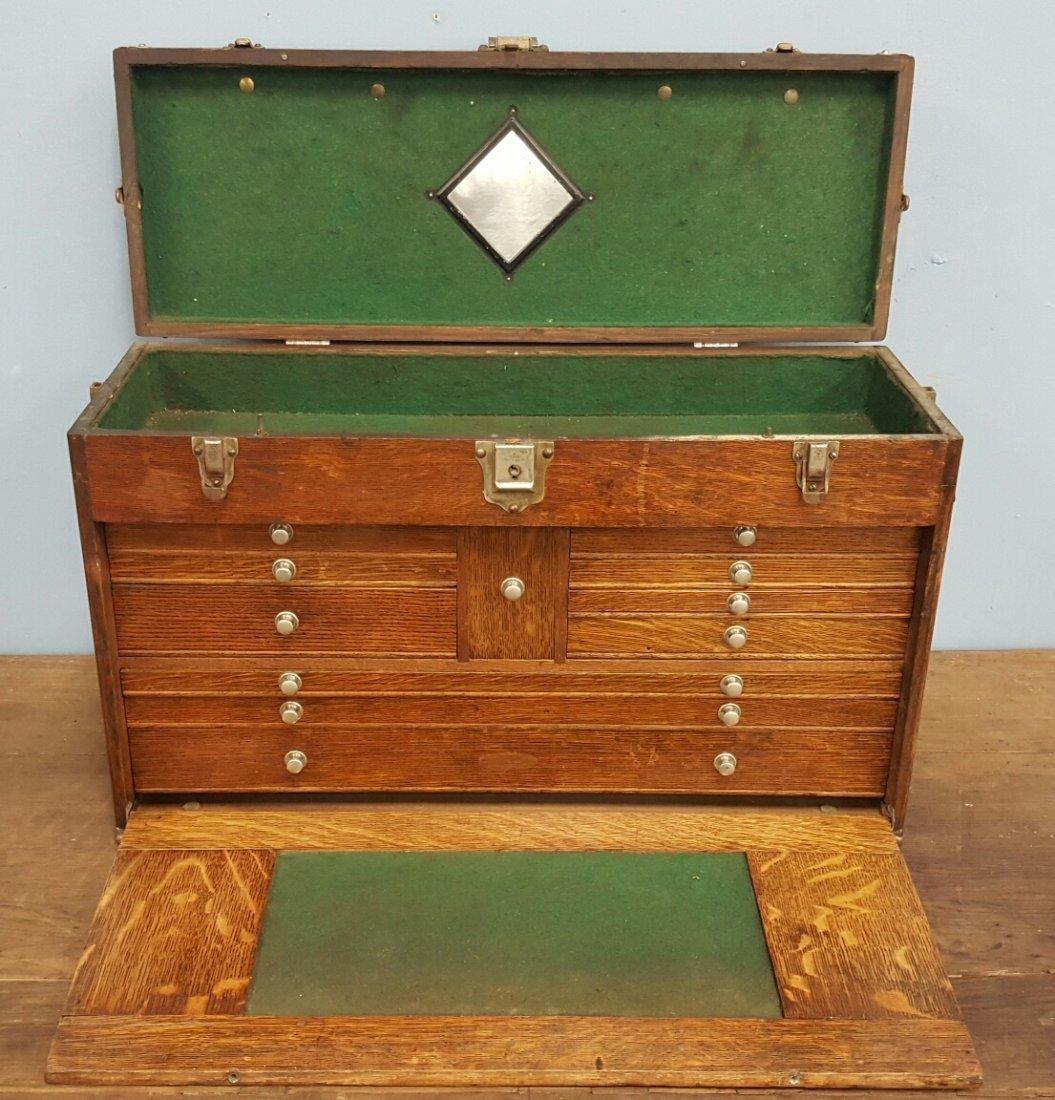 Oak Machinist Tool Box