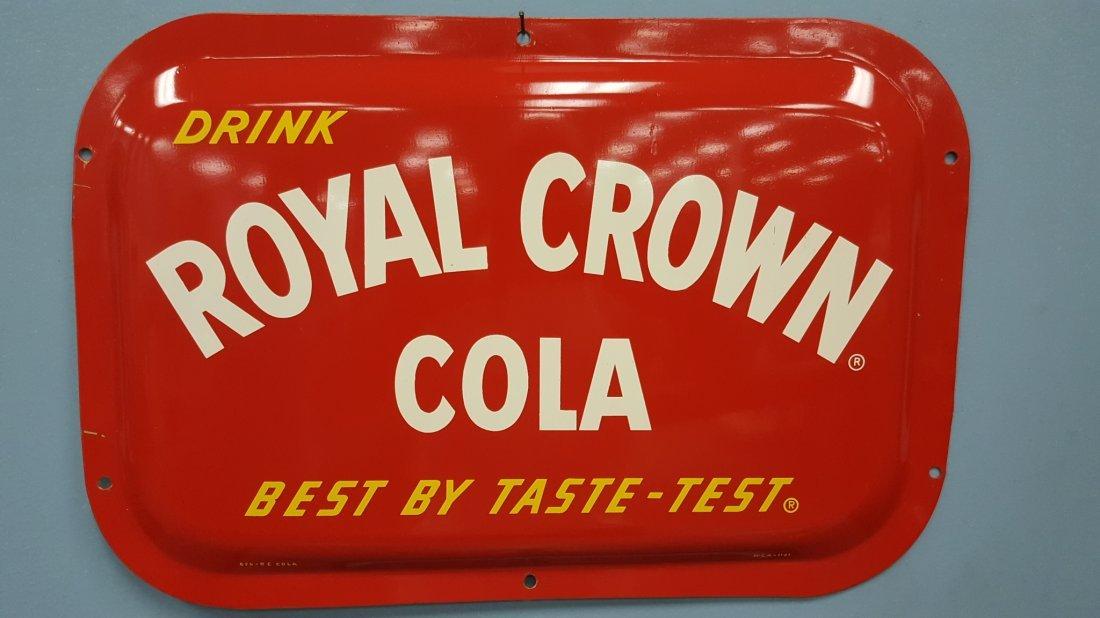 NOS Royal Crown Cola Domed Sign