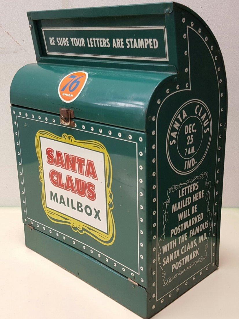 Union 76 Santa Claus Service Station Mail Box