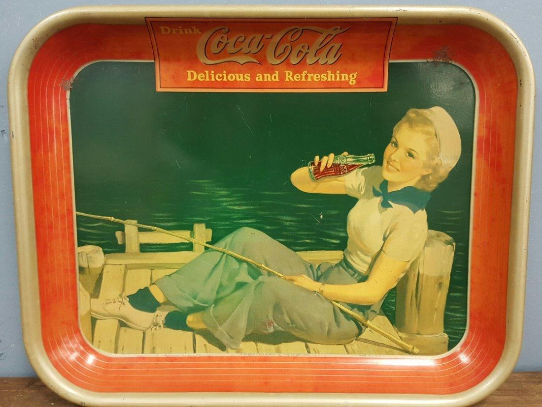 1940 Coca Cola Tray